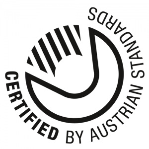 Certified By Austrian Standards Logo